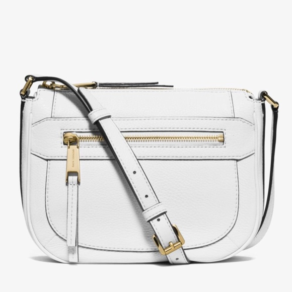 Michael Kors Bags   Optic White Julia   Poshmark 99835db179